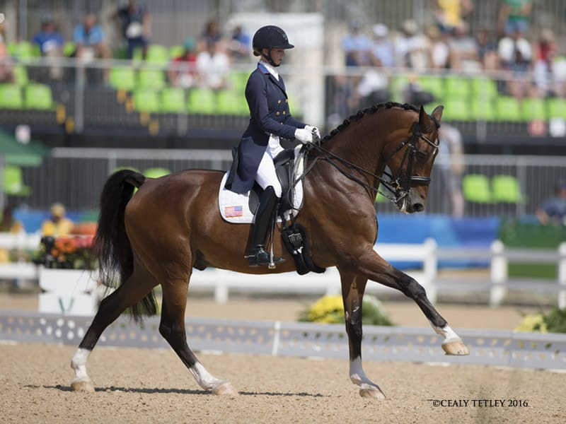 Laura Graves and Verdades Deliver Personal Best in Grand Prix Freestyle