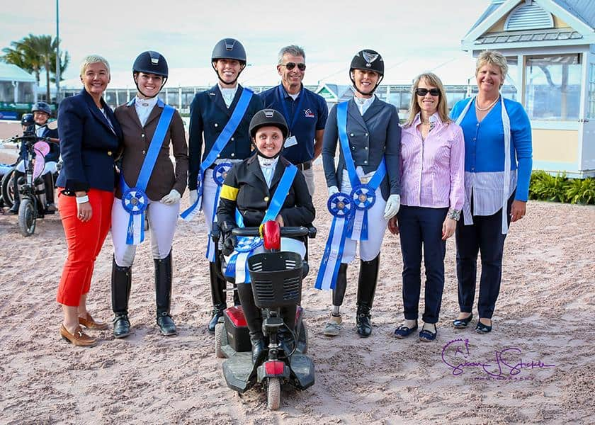 U.S. Para-Equestrian Dressage Team presented by Deloitte Victorious at Adequan® Global Dressage Festival 2 CPEDI3*